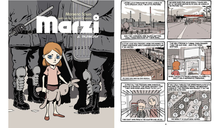 Graphic novel Marzi