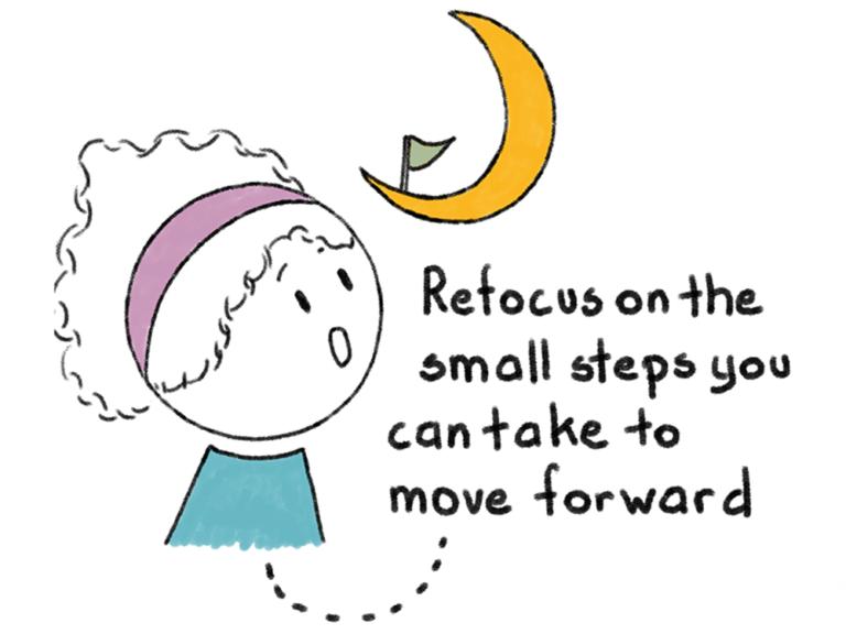 illustratie 10 tips stoppen met piekeren
